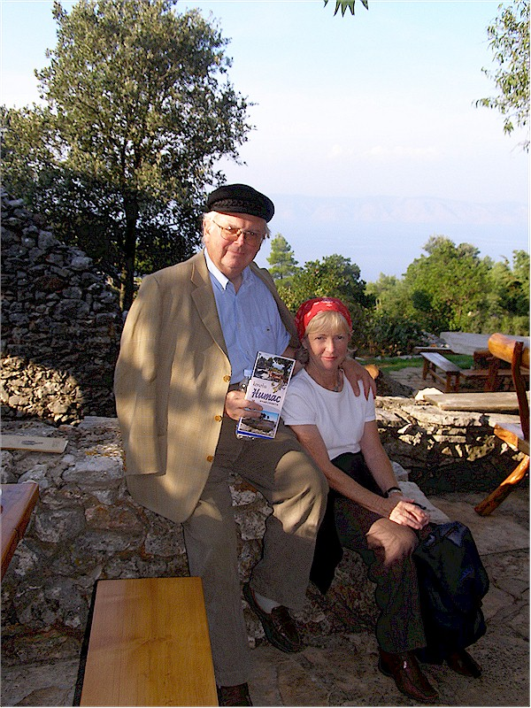 Author John Dillon with his wife Jean Dillon